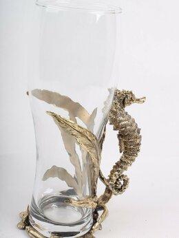 Бокалы и стаканы - Пивной бокал «Морской конек», 0
