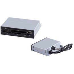Устройства для чтения карт памяти - Карт-ридер Foxline внутренний CR-901-01 USB Black, 0