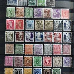 Марки - марки Германия зоны оккупации 1945 , 0