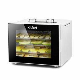 Сушилки для овощей, фруктов, грибов - Сушилка/овощей и фруктов Kitfort KT-1915, белая, 0