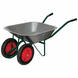 Тележки и тачки - Тачка садовая 2пневм.колеса WB 4107A 65л/150кг , 0