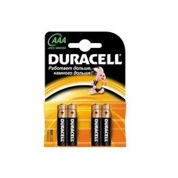 Батарейки - Батарейки Duracell LR03-4BL BASIC 4шт ААА, 0