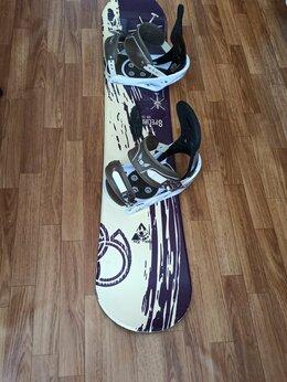 Сноуборды - Сноуборд детский 130см комплект, 0