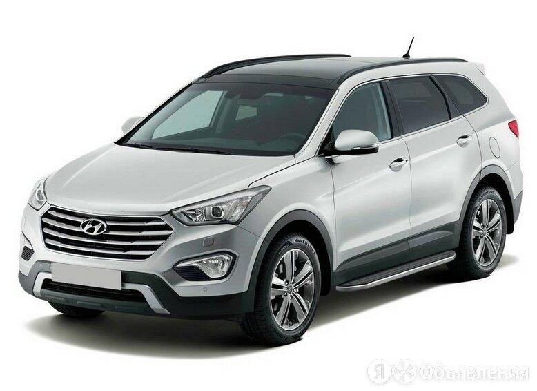 Порог-площадка Premium Rival на Hyundai Santa Fe 2006 - 2012 (Арт. A173ALP.23... по цене 20210₽ - Кузовные запчасти , фото 0