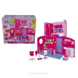 Куклы и пупсы - Кукла Штеффи в двухэтажном складывающемся доме,…, 0