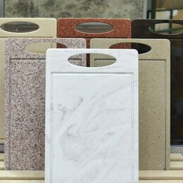Разделочные доски - Доска кухонная разделочная из искусственного камня, 0