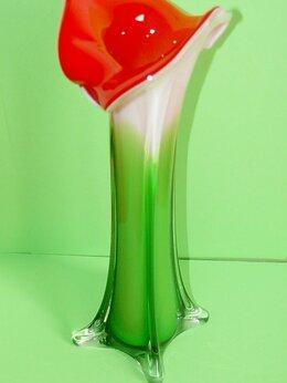 Вазы - Ваза-берц, цветное стекло., 0