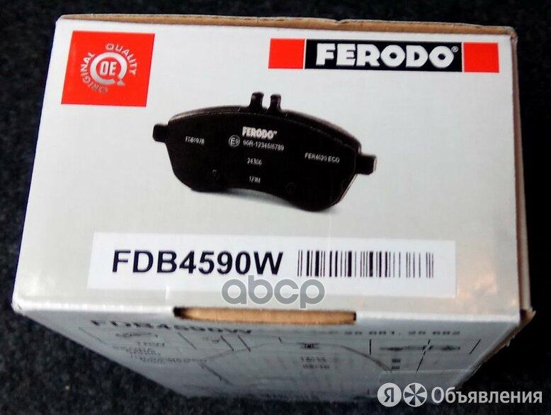 К-Т Дисков. Тормоз. Колодок Ferodo арт. FDB4590W по цене 1628₽ - Тормозная система , фото 0