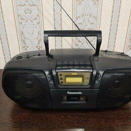 Музыкальные центры,  магнитофоны, магнитолы - Магнитофон Panasonic  rx-dt 15, 0
