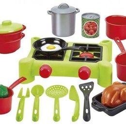 Посудомоечные машины - Плита с продуктами 21 предмет, Ecoiffier, 2649, 0