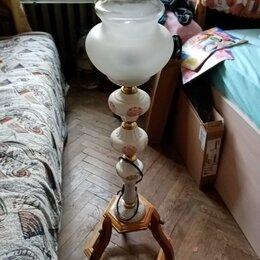 Ночники и декоративные светильники - бра настольное фарфор, 0
