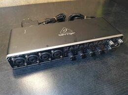 Оборудование для звукозаписывающих студий - Аудиоинтерфейс Behringer U-Phoria UMC404HD, 0