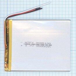 Аккумуляторы - Аккумулятор Li-Pol (батарея) 3*85*100мм 3pin…, 0