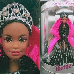 Куклы и пупсы - Барби негритянка, Holiday 1998 год, 0