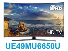 "Телевизоры - 49"" 4K LED Smart TV Samsung UE49MU6650U Curved, 0"