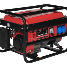 Электрогенераторы и станции - Генератор бензиновый Master 3 кВт, 0