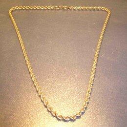Цепи - Цепь золотая Длина 44 см., 0