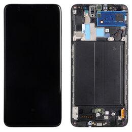 Дисплеи и тачскрины - Дисплей для Samsung Galaxy A70 SM-A705F, 0