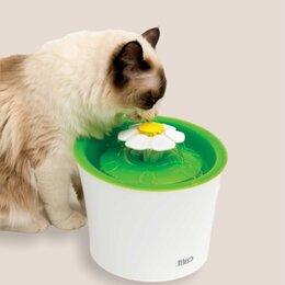 Миски, кормушки и поилки - Фонтан поилка для кошек , 0