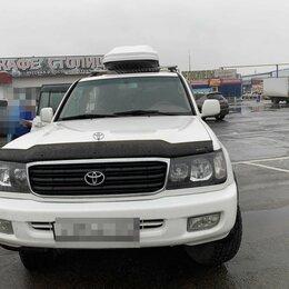 """Перевозка багажа - Багажный бокс """"Altai"""" 1850*820*400 бел """"карбон""""с одн.  390 л Land Cruiser 100 , 0"""
