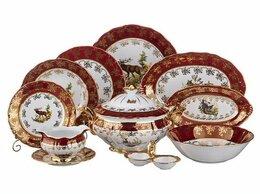 Сервизы и наборы - Красная охота столовый и чайный сервиз, 0