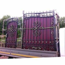 Заборы и ворота - Кованые ворота, 0