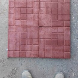 Садовые дорожки и покрытия - Плитка полимерпесчаная 330х330х22  и 250х250х20, 0