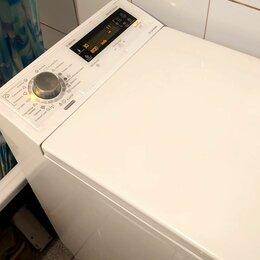 Стиральные машины - Вертикальная стиральная машинка пар, инвертор, 7 кг., 0