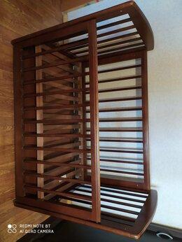 Кроватки - Кроватка- качалка с матрасом и ящиками для…, 0