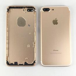 Корпусные детали - Корпус для Apple iPhone 7 Plus золотой, 0