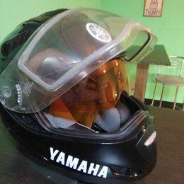 Мотоэкипировка - Мото шлем Yamaha, 0