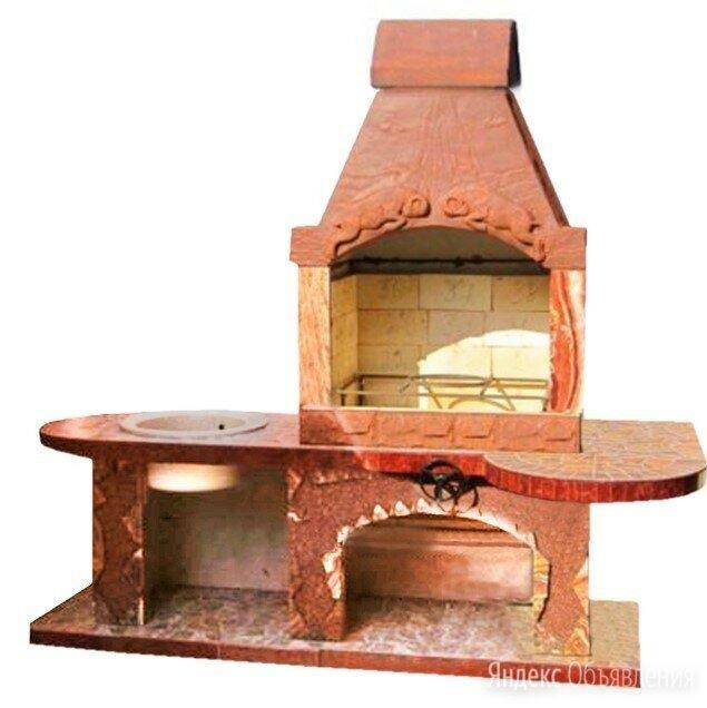 Печь барбекю для беседки Артин по цене 106990₽ - Грили, мангалы, коптильни, фото 0