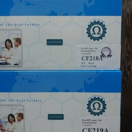 Картриджи - Картридж CF218A CF219A ОМЕГА + есть другие, 0