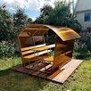 Дачная Беседка из поликарбоната  по цене 12900₽ - Комплекты садовой мебели, фото 0