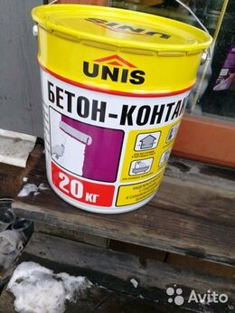 Строительные смеси и сыпучие материалы - Грунтовка бетоноконтакт, 0