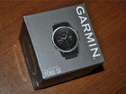 Умные часы и браслеты - Garmin Fenix 5S Silver / Black (см. описание), 0