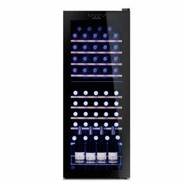 Винные шкафы - Встраиваемый винный шкаф dunavox dab-89.215db, 0
