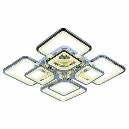 Люстры и потолочные светильники - Светодиодная люстра с пультом Kvadro 8 GD, 0