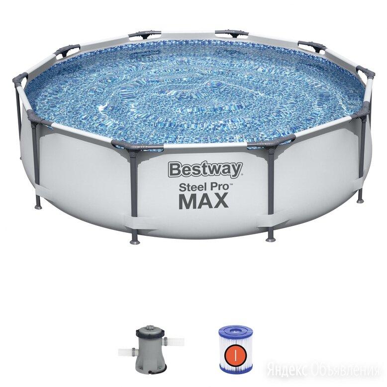 Каркасный бассейн 305 на 76 (новый) по цене 9990₽ - Бассейны, фото 0