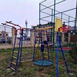 Игровые и спортивные комплексы и горки - Детский уличный комплекс макси комплектация  с…, 0