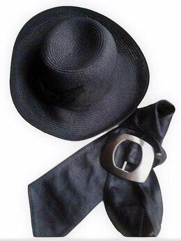 Головные уборы - Кожаный пояс + летняя шляпа от mascotte, 0