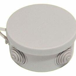Аксессуары и запчасти для оргтехники - Коробка установ 85*40мм о/п ХЕГЕЛЬ IP55 4 ввода, 0