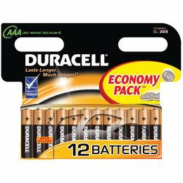 Батарейки - Батарейки мизинчиковые duracell 12 шт, 0