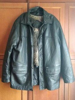 Куртки - куртка мужская кожаная, зима Romanoff., 0