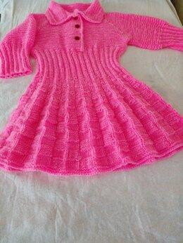 Платья и сарафаны - Платье детское, новое, связанное в ручную, 0