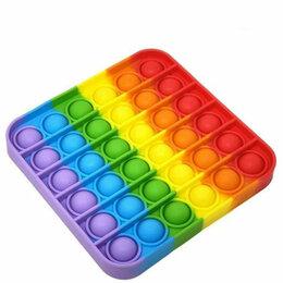 Игрушки-антистресс - Pop It антистресс пузырь в виде квадрата, 0