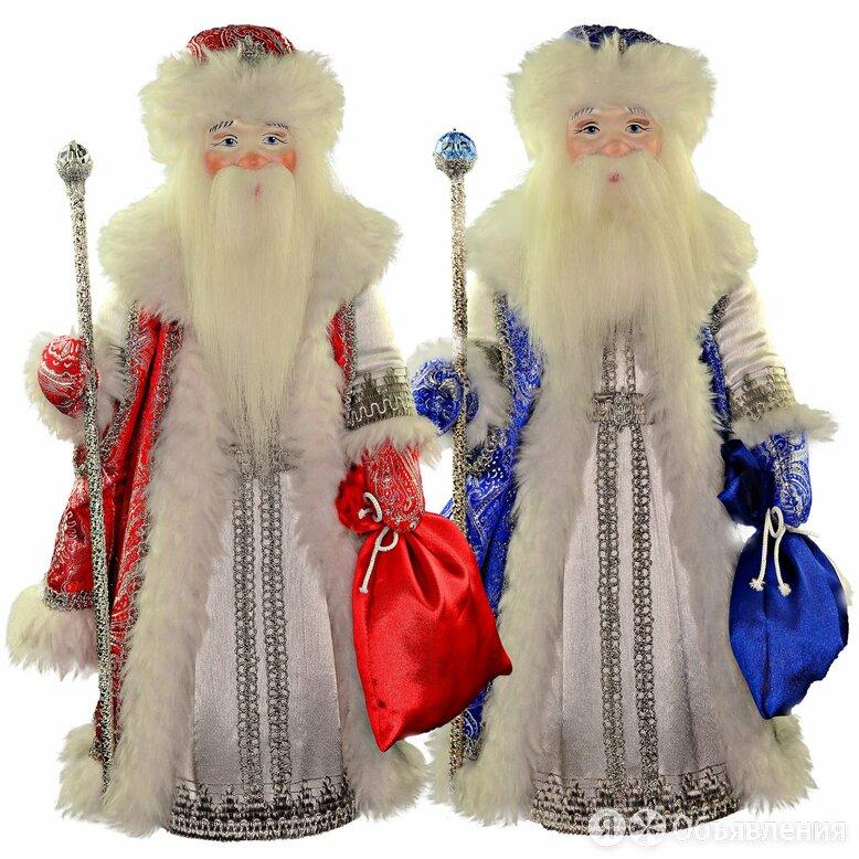 Подарочная кукла Морозко новогодний hand made подарок в русском стиле  по цене 3000₽ - Новогодние фигурки и сувениры, фото 0
