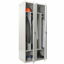 Мебель для учреждений - Шкаф для раздевалок LS-21-80 D, 0