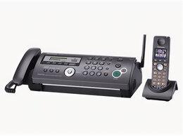 Факсы - Факс Panasonic KX-FC258RU с беспроводной трубкой, 0