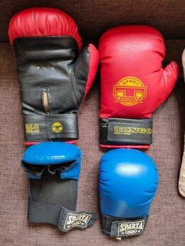 Боксерские перчатки - Перчатки,:-набор для боксировния tongo,sparta б.у, 0